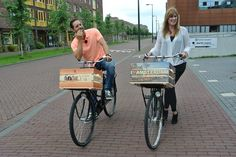 samen op de fiets!