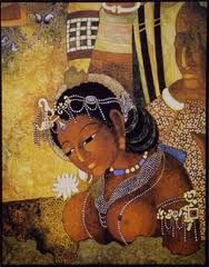 Image result for ajanta caves paintings