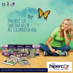 Anúncio Tintas Hipercor - Institucional