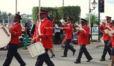 Remembrance Day Parade: Salvation Army Divisional Band #Bermuda #photography Photo credit: Taja Nicole Photography