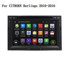 2 Din HD 7 inch Android 5.1 Car Multimedia Player GPS Navigation Bluetooth TV 3G WIFI Radio For CITROEN Berlingo 2010-2016