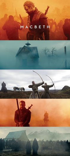 Macbeth michael fassbender art direction cinematography