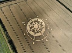 Crop Circle at Hoo Mill, nr Haselor, Warwickshire. Reported 19th July 2015