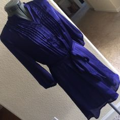 nwt francesca's collection blue/violet dress nwt Francesca's Collections Dresses