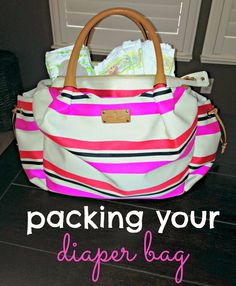 all things katie marie: Packing Your Diaper Bag