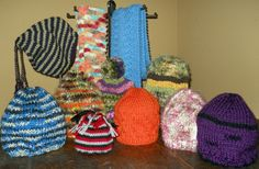 How to Knit an Easy Beanie Hat with Straight Needles