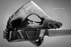 Sketch, by Rick Toone    This is Tosin Abasi's guitar.