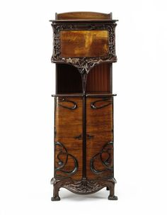 Cabinet by Louis Majorelle, made Nancy France ca. 1900