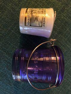 Yankee Candle White Gardenia - Sampler + Holder