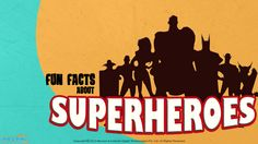 Read fun facts about your favorite #Superhero characters. Superman was supposed to be a bald character, obsessed with dominating the world! more facts here. For more interacting #Generalknowledge for #kids, visit: http://mocomi.com/learn/general-knowledge/