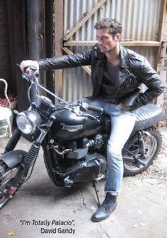 I ♥ a boy on his bike....especially D