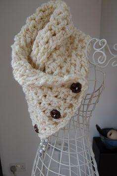 Lattice Crochet Neck Warmer. Free pattern just follow the links.