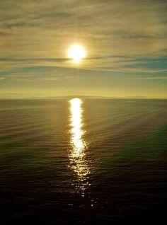 Sun Reflection by James Bullis-King