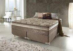 Cama Box King Size, Mattress, Bench, Storage, Furniture, Home Decor, Bed Sizes, Foam Mattress, Bed Ideas