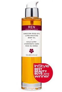 skincare, skincare, skincare REN Moroccan Rose Otto Ultra-Moisture Body Oil #body #valentines