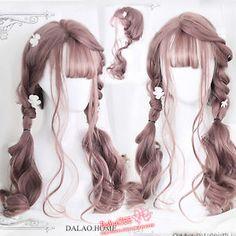 63 Trendy Frisuren Lang Kawaii - New Site Kawaii Hairstyles, Trendy Hairstyles, Gothic Hairstyles, Scarf Hairstyles, Natural Hairstyles, Wedding Hairstyles, Pixie Haircut Gallery, Kawaii Wigs, Lolita Hair