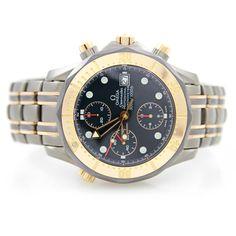 """OMEGA, Herrenuhr, """"Seamaster Chronograph"""", Titan, D. ca. 40 mm (ohne Kronen). Automatic-Werk, Ref.: — Uhren"""