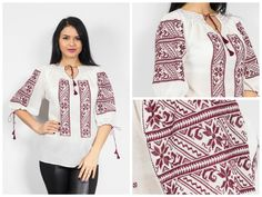 Romanian blouse, traditional