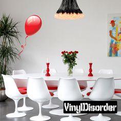Full Color Balloon Vinyl Wall Decal or Car Sticker Balloons BA002