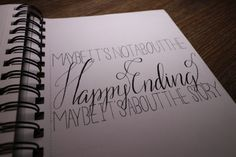 PLL Quotes - Hand Lettering