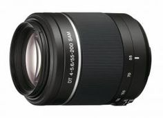 Sony DT ED Compact Telephoto Zoom Lens (Certified Refurbished) Iphone Camera Lens, Digital Camera Lens, Digital Slr, Nikon D3100, Sony A6000, Iphone 6, Sony 55, Canon, Distancia Focal