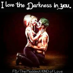Megan... be my Harley please? I'll be your joker. I love u sweetheart -Lex