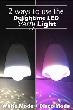 The Delightime 2-in-1 LED Disco Party Light is really simple to use. Have the disco effect and normal lighting all in one purchase! https://www.amazon.com/Delightime-LED-Disco-Party-Light/dp/B01D1XROGA