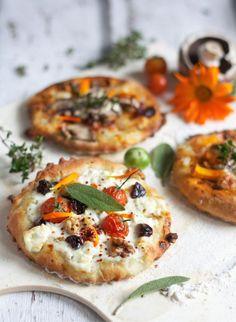 Mini Pizza Fingerfood & Partyrezepte