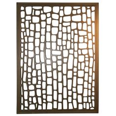 Modernist Room Divider / Wall Sculpture - USA (Circa 1950's)