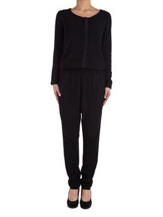 DIRO LS JUMPSUIT, Black, main
