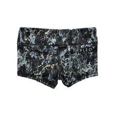 Smoked Spandex Shorts by FLEO