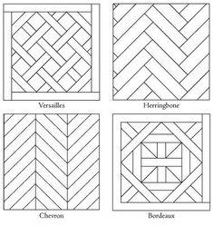 Best Ideas For Flooring Herringbone Wood Wood Floor Pattern, Floor Patterns, Tile Patterns, Herringbone Pattern, Pattern Ideas, Herringbone Wood Floor, Chevron Patterns, Pattern Design, Diy Wood Projects