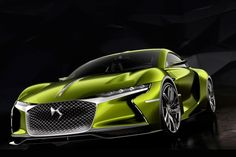 The Citroen DS E-Tense showcases the capability of the French manufacturer. The all electric concept is showcased as a 'Grand Tourer'.