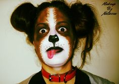 #Puppy #DoggyMoments #Dog #MakeUp #FacePainting