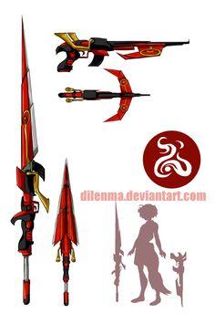 Commission--Heaven's Fang by Dilenma.deviantart.com on @DeviantArt