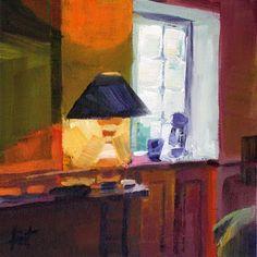 Sitting Room Corner by Liza Hirst