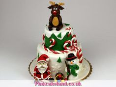 christmas cakes surrey birthday cake santa claus