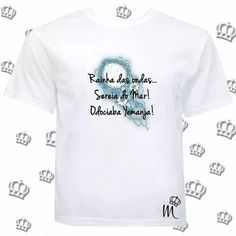 f6044bbb51907 Camiseta Iemanjá Orixá Espelho Umbanda Candomblé - R  28