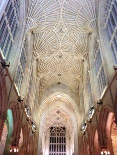Inside the Bath Abbey- Bath, UK