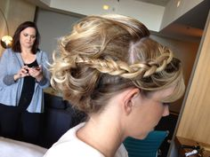 Holley Hair. Updo