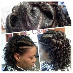 Crochet Braids Albany Ga : Spiral curls, Spirals and Curls on Pinterest