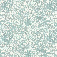 Buy John Lewis Collette PVC Tablecloth Fabric, Aqua Online at johnlewis.com