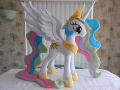 Princess Celestia Plush by EquestriaPlush.deviantart.com on @deviantART