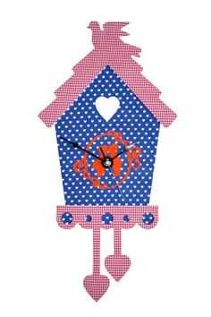 Klok van Kidsware voor een kinderkamer met een Holland thema.