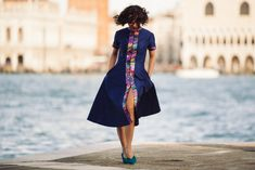 DUX   #effotlesschic #lilycorall #dress #fashion #venice
