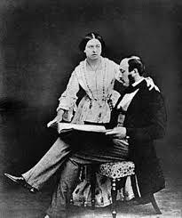Victoria I y el príncipe Alberto