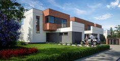 Ekskluzywne domy w Osielsku pod Bydgoszczą. #render #dom #rodzina