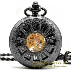 74b6f7bc7a7 Aço de tungstênio Inglaterra 12 moda retro oco Ms. relógio antigo relógio  de bolso mecânico