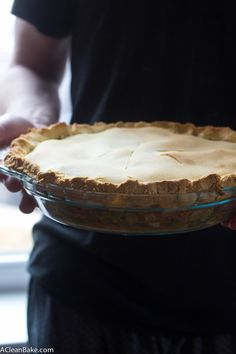 Happy Pi(e) Day! How about Paleo Chicken Pot Pie for dinner to celebrate? (Gluten and Dairy Free)