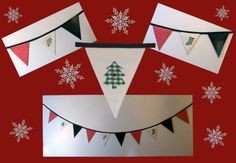 My bunting challenge!! #bunting #Christmas